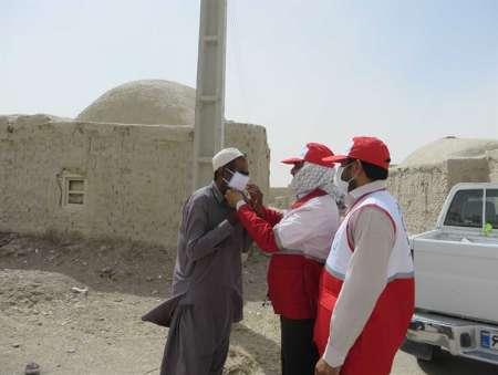 توزیع ۵۱ هزار ماسک میان مردم توفان زده سیستان