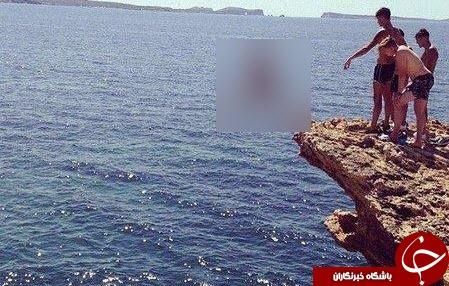 سقوط مرگبار پسر جوان در روز تولدش + تصاویر
