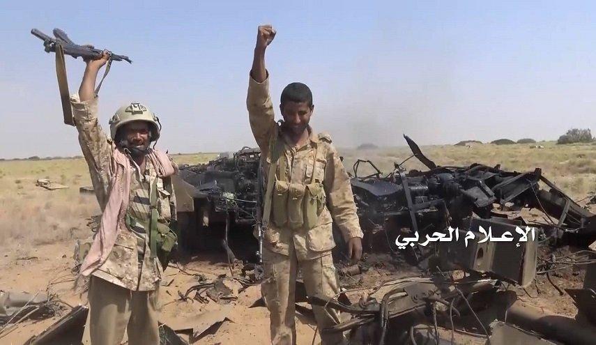 نیروهای یمنی پادگان سعودیها در نجران را هدف قرار دادند/ سرنگونی هواپیمای شناسایی متجاوزان