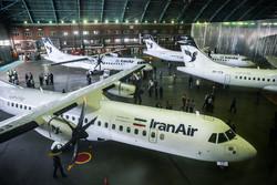 نخستین پرواز هواپیماهای برجامی در مسیر تهران - مشهد