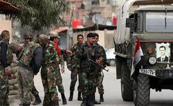 حمله ارتش سوریه به مواضع تروریستها در ادلب