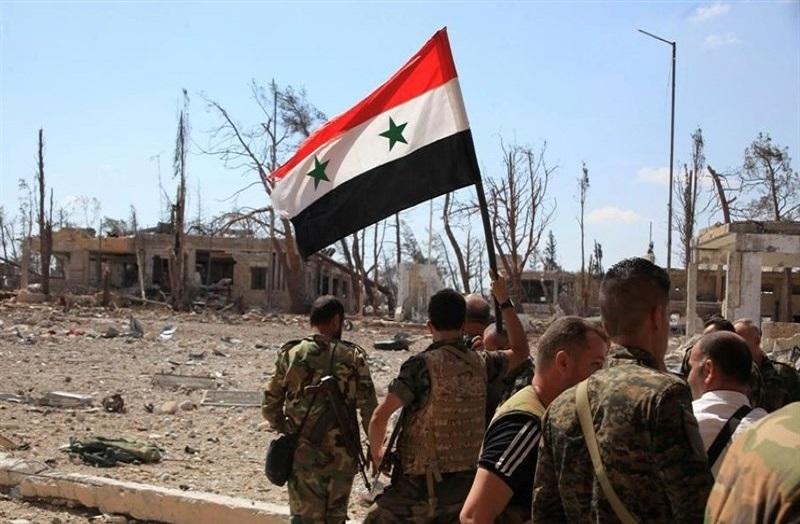 محاصره مهمترین پایگاه داعش در «السویداء» توسط نیروهای سوری