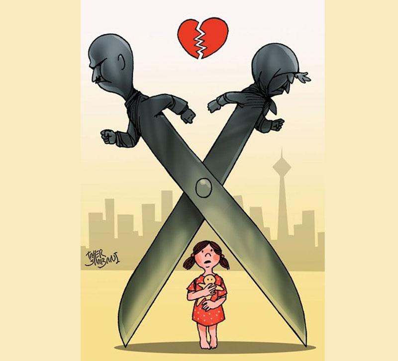 تأثیرات طلاق عاطفی روی کودکان/ کودکان قربانی طلاق عاطفی والدینشان هستند