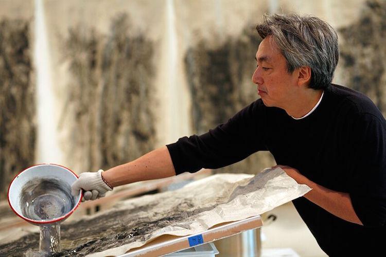 نقاشی خارق العاده یک هنرمند ژاپنی