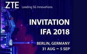 احتمال معرفی گوشی جدید ZTE در IFA 2018