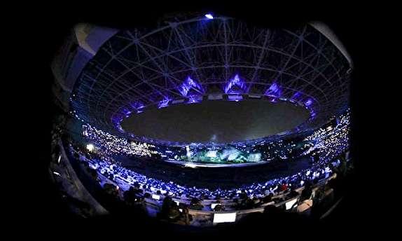 افتتاحیه بازیهای آسیایی از لنز دوربینها