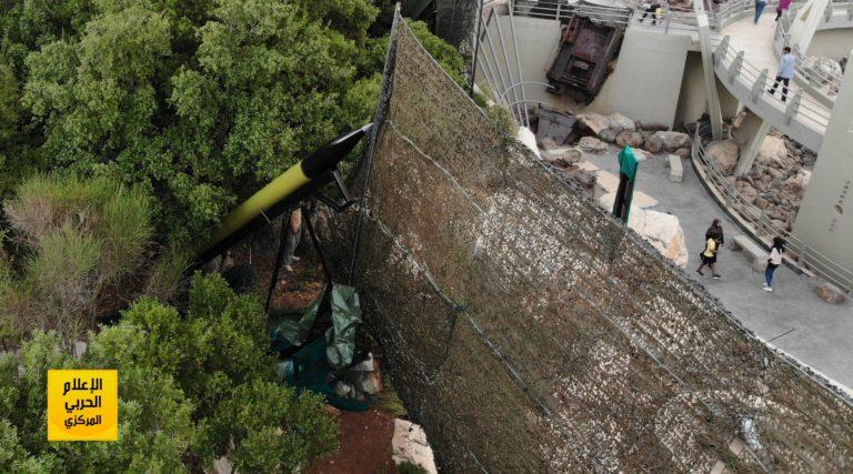 حزبالله لبنان برای نخستینبار موشک «خیبر 1» را به نمایش گذاشت+ تصاویر