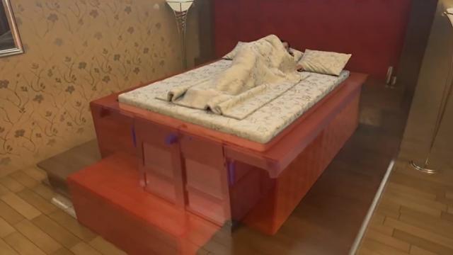 تختخوابهای ضد زلزله جان افراد را در هنگام زلزله نجات خواهد داد +فیلم