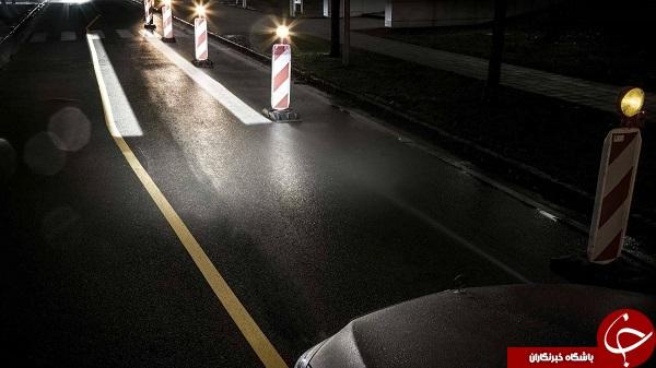 چراغهای جدید مرسدس بنز با شما صحبت میکند +تصاویر