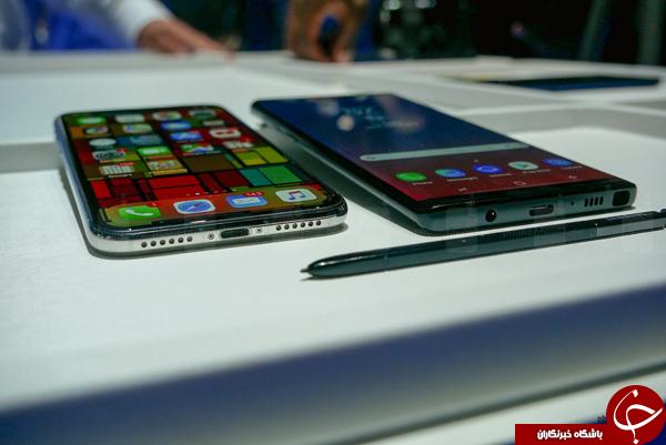 مقایسه Galaxy Note 9 با iPhone X؛ جنگ پرچمداران هزار دلاری ////////گزارش پنجشنبه