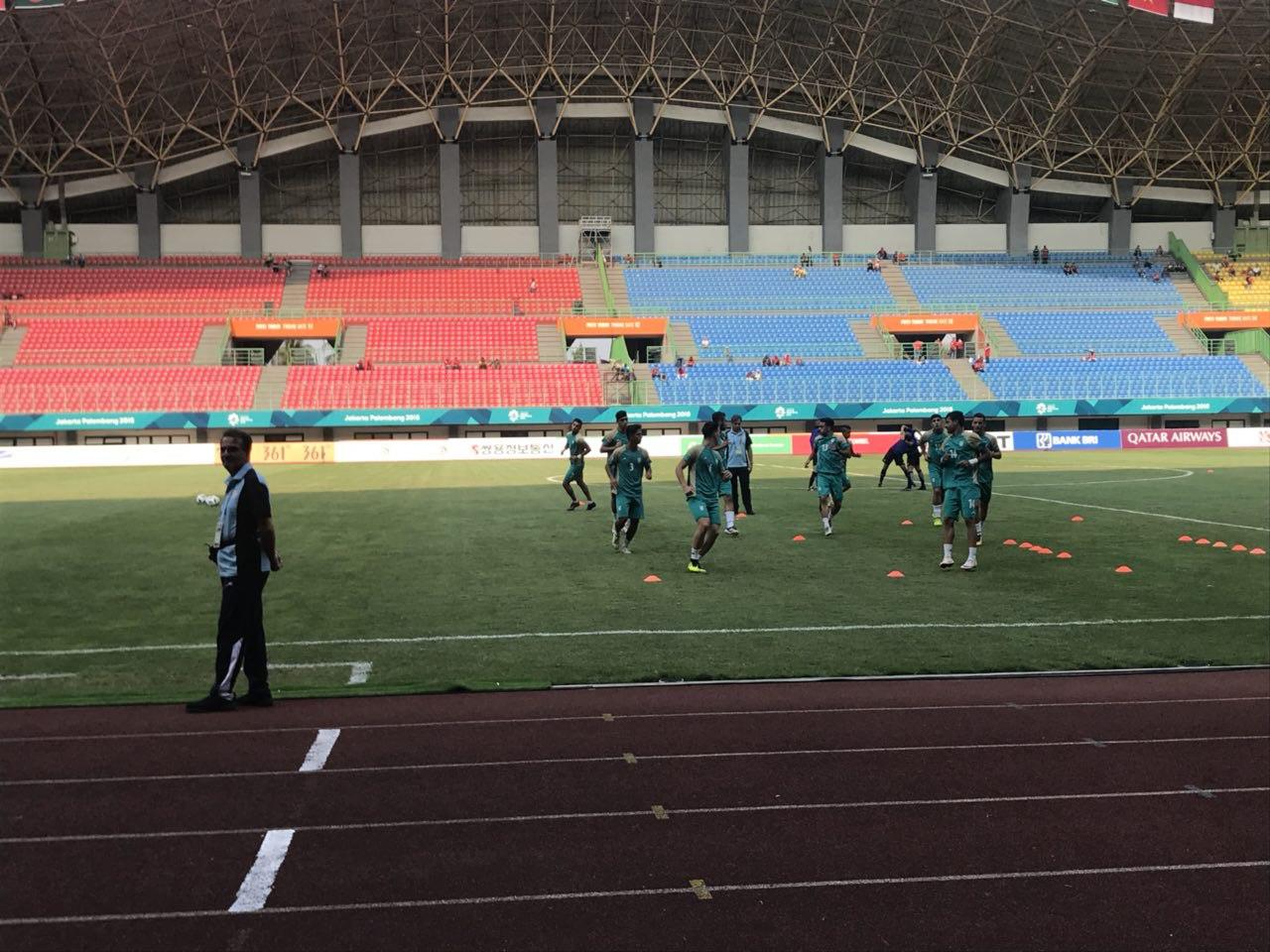 تیم ملی فوتبال امید ایران ۰ - ۰ میانمار / گزارش لحظه به لحظه مسابقه
