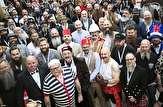 باشگاه خبرنگاران -تصاویری جالب از جشنواره سبیلوها در انگلیس