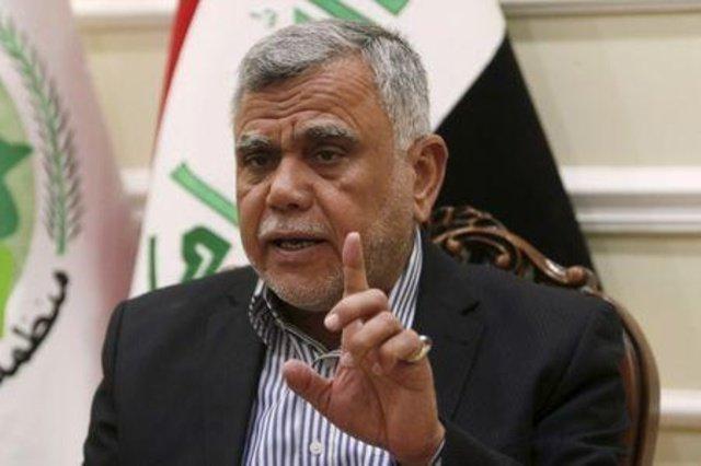 سران برخی احزاب عراقی در خانه هادی العامری نشست برگزار کردند