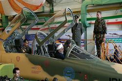 رونمایی از جت جنگنده تمام ایرانی توسط رئیس جمهور + فیلم