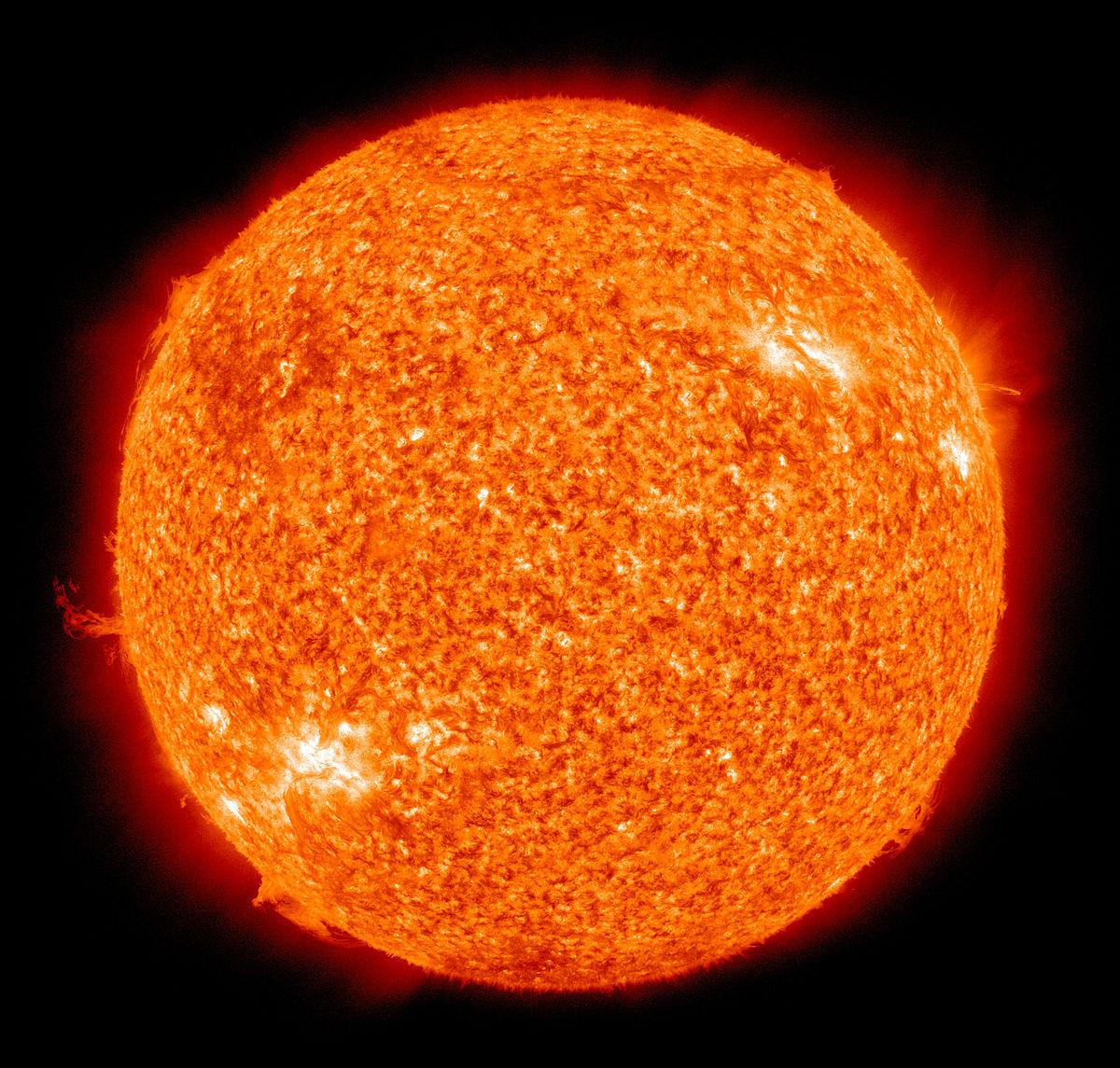 جدیدترین تصویر از خورشید