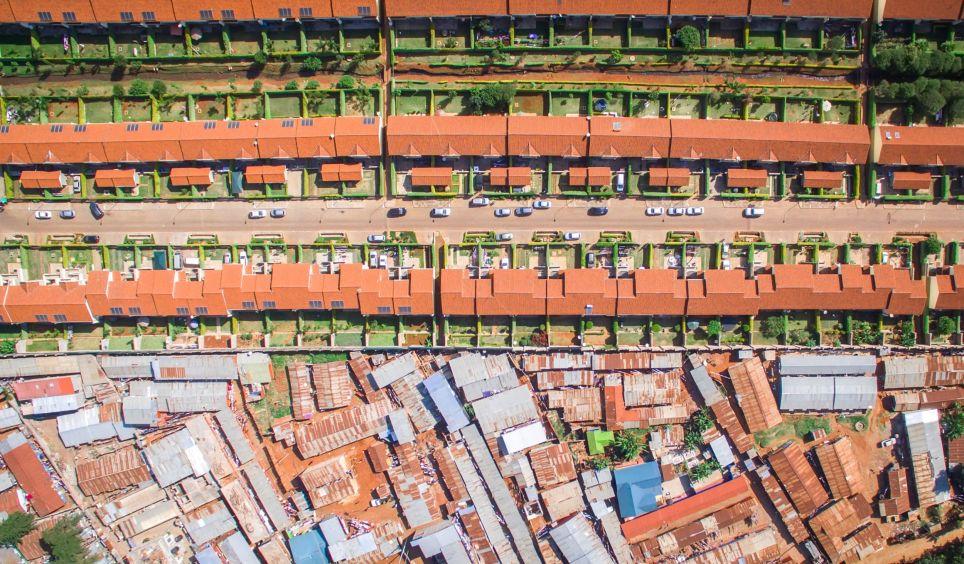 مرزبندی فقر و ثروت در یک نگاه+تصاویر