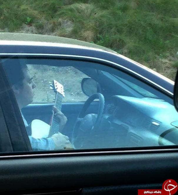 تصاویری باورنکردنی از رانندگی  غیرمجاز در جهان+عکس