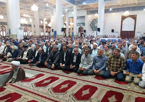 اقامه نماز عید سعید قربان در گیلان+تصاویر