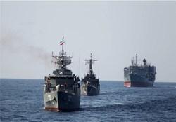 پهلوگیری ناوگروه نیروی دریایی ارتش در بندرعباس