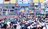 باشگاه خبرنگاران -برپایی نماز عید سعید قربان در دهکده بازیهای آسیایی جاکارتا +تصاویر