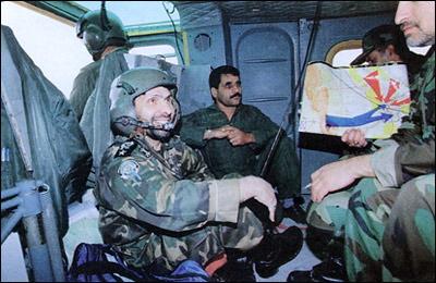 غروب ابدی منافقان در عملیات مرصاد به دست صیاد شیرازی