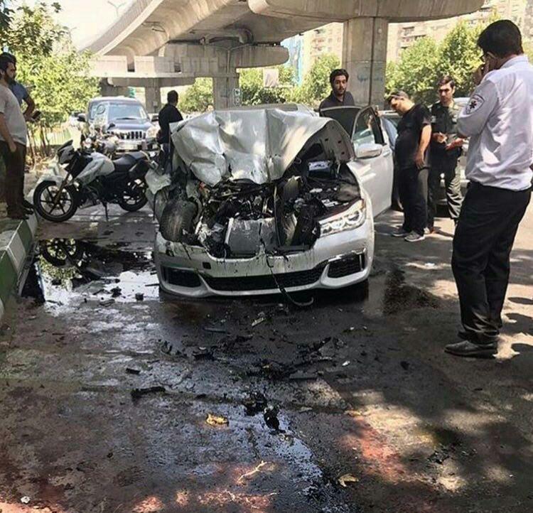 تصادف خونین در بزرگراه شهید بابایی + عکس