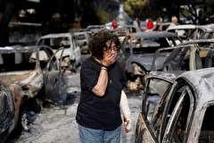 باشگاه خبرنگاران -تصاویر هفته: از آتش سوزی مرگبار یونان تا تخریب ستاره دونالد ترامپ در هالیوود