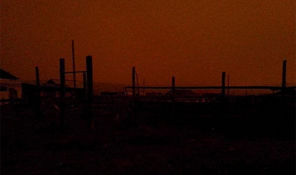 پدیده عجیب در سیبری/ ناپدید شدن خورشید از آسمان روز به مدت ۴ ساعت
