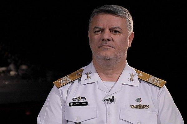 فرمانده نیروی دریایی ارتش از صنایع سازمان دریایی بازدید کرد