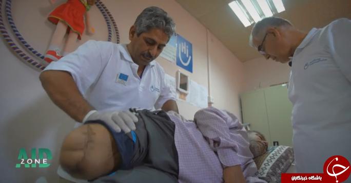 درد و دلهای تکان دهنده جوانی که داعش دستش را قطع کرد! +تصاویر