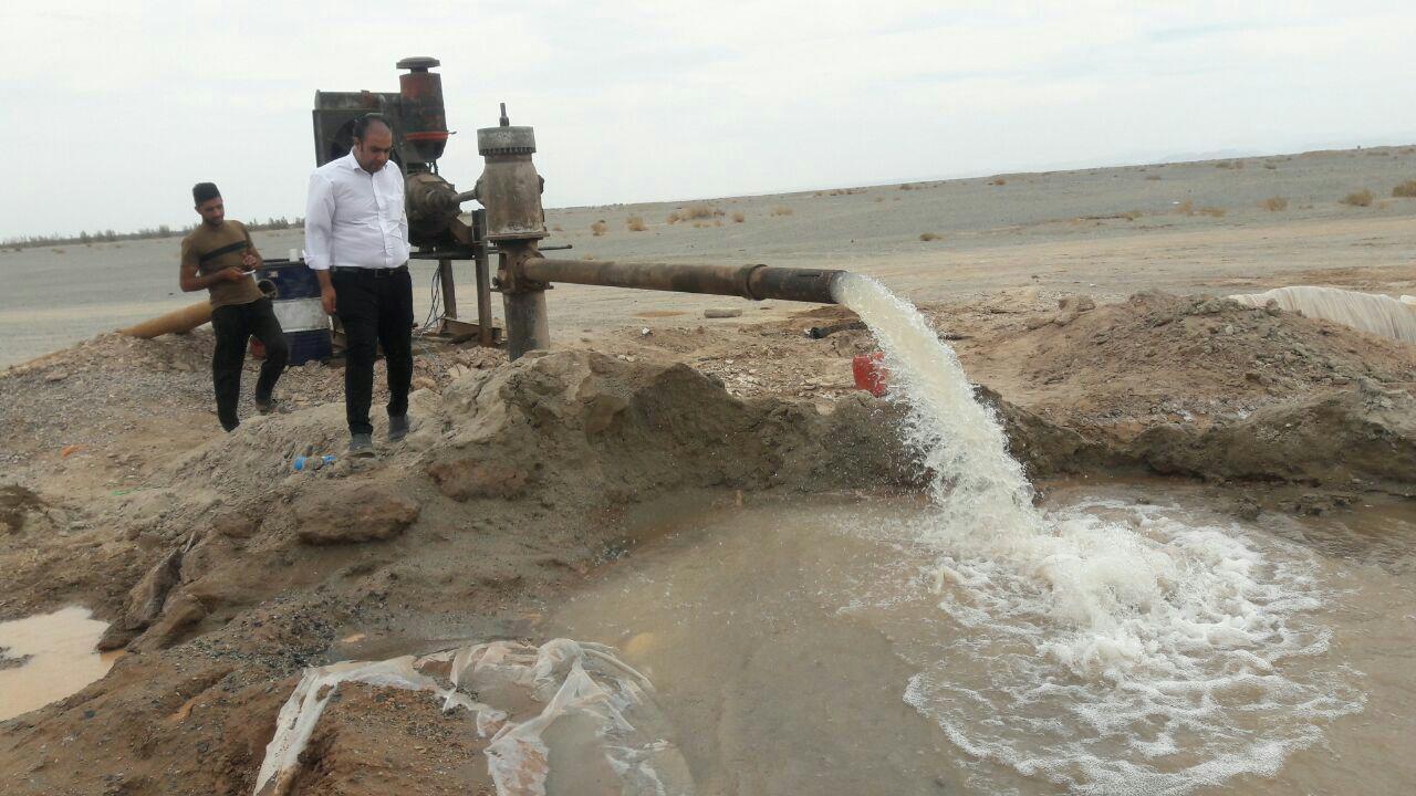 برداشت از آب در کرمان در مرز هشدار