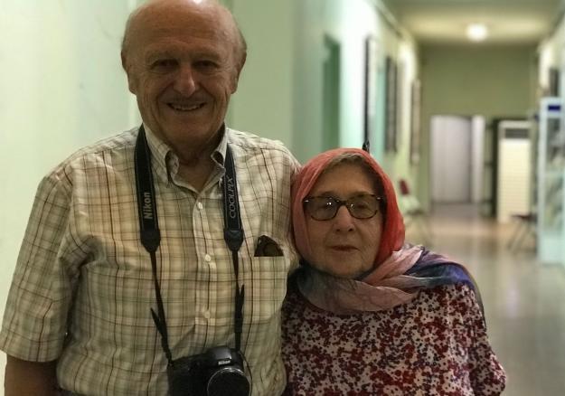 زوج آمریکایی ۶۰ سال پس از ازدواجشان دوباره به ایران آمدند+عکس