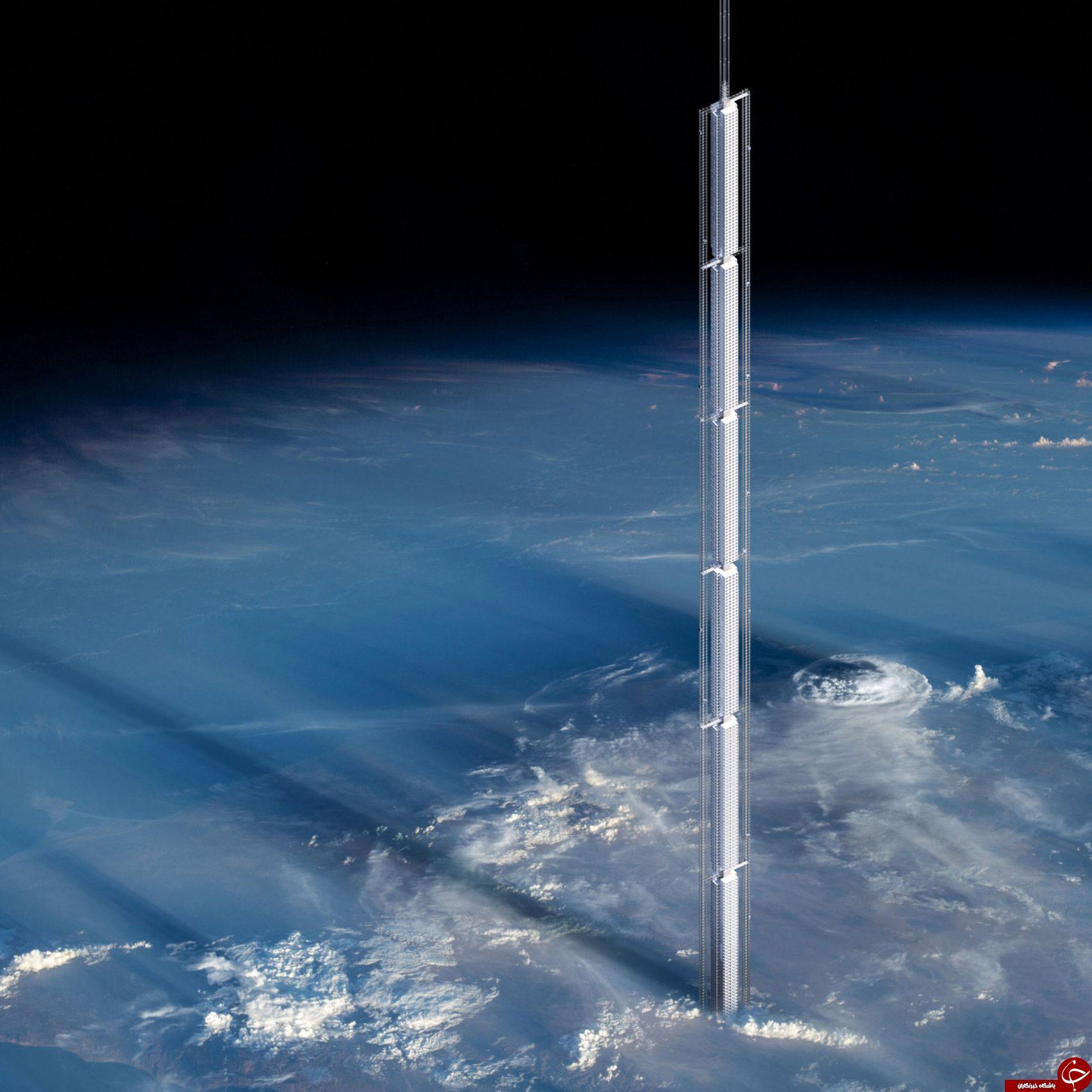 رونمایی از طرح مرتفع ترین آسانسور فضایی+ تصاویر