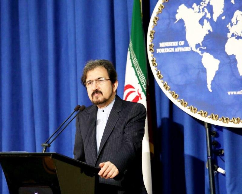 قاسمی: ادعای ارسال موشک از ایران به عراق کذب، واهی و مضحک است