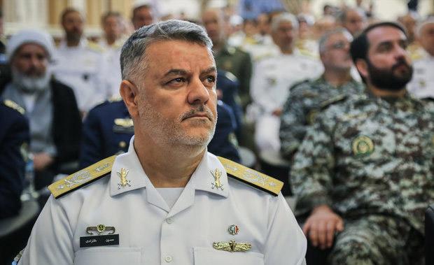 فرمانده نداجا سالروز تاسیس قرارگاه پدافندهوایی ارتش را تبریک گفت