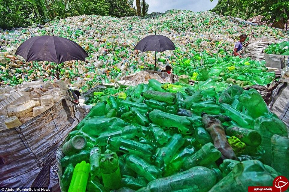 بطریهای پلاستیکی در بنگلادش چگونه بازیافت میشوند؟