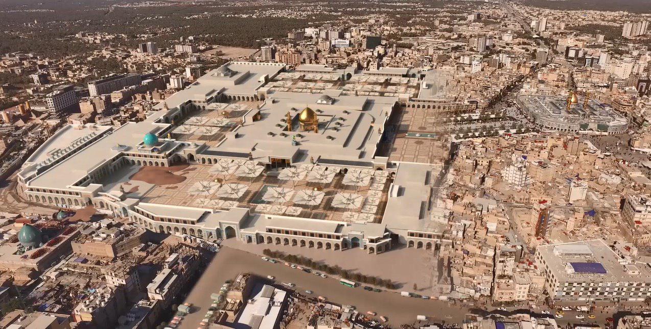 حرم امام حسین(ع) و تل زینبیه پس از تکمیل طرح توسعه چه شکلی میشوند؟ + عکس