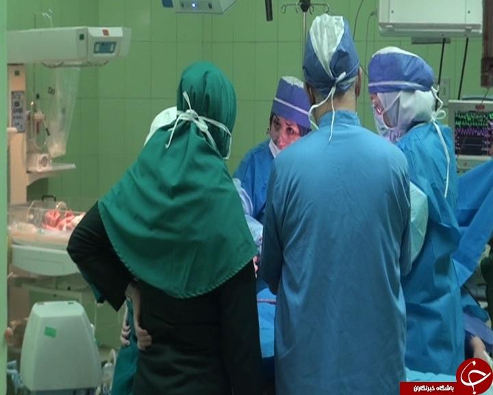 تولد نخستین نوزاد حاصل از روش PRP در همدان