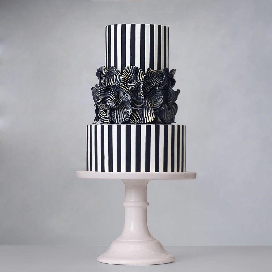 طراحیهای جالب کیک با ایدههای معماری + تصاویر