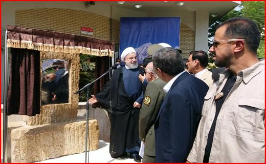 رئیسجمهور سه طرح پتروشیمی را در عسلویه افتتاح کرد