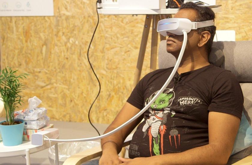 خداحافظی از خستگی چشم با استفاده از ماساژور جدید شرکت Aurai