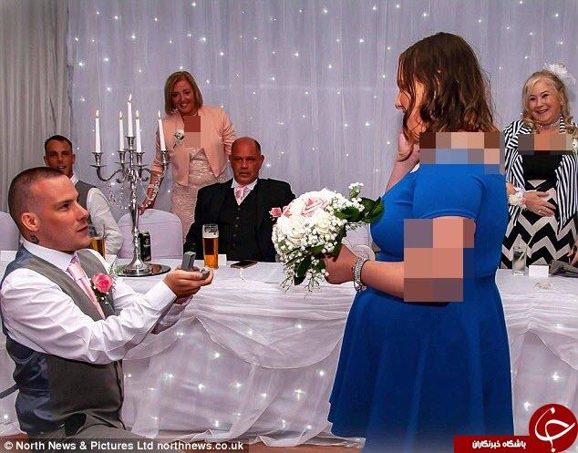 اقدام جالب عروس در جشن عروسی اش! + فیلم///صبح