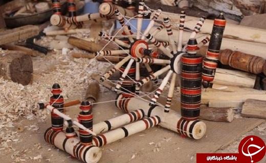 خراطی هنر صنعت سنتی و قدیمی میبد روبه فراموشی است/ هنرصنعت خراطی به خاطره ها پیوست