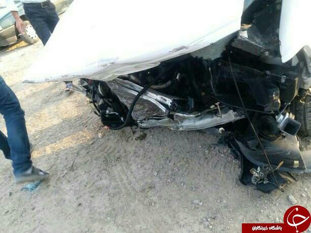 شهروندخبرنگار اصفهان؛ تصادف مرگبار پراید 141 و پژو 405 در اصفهان + تصاویر