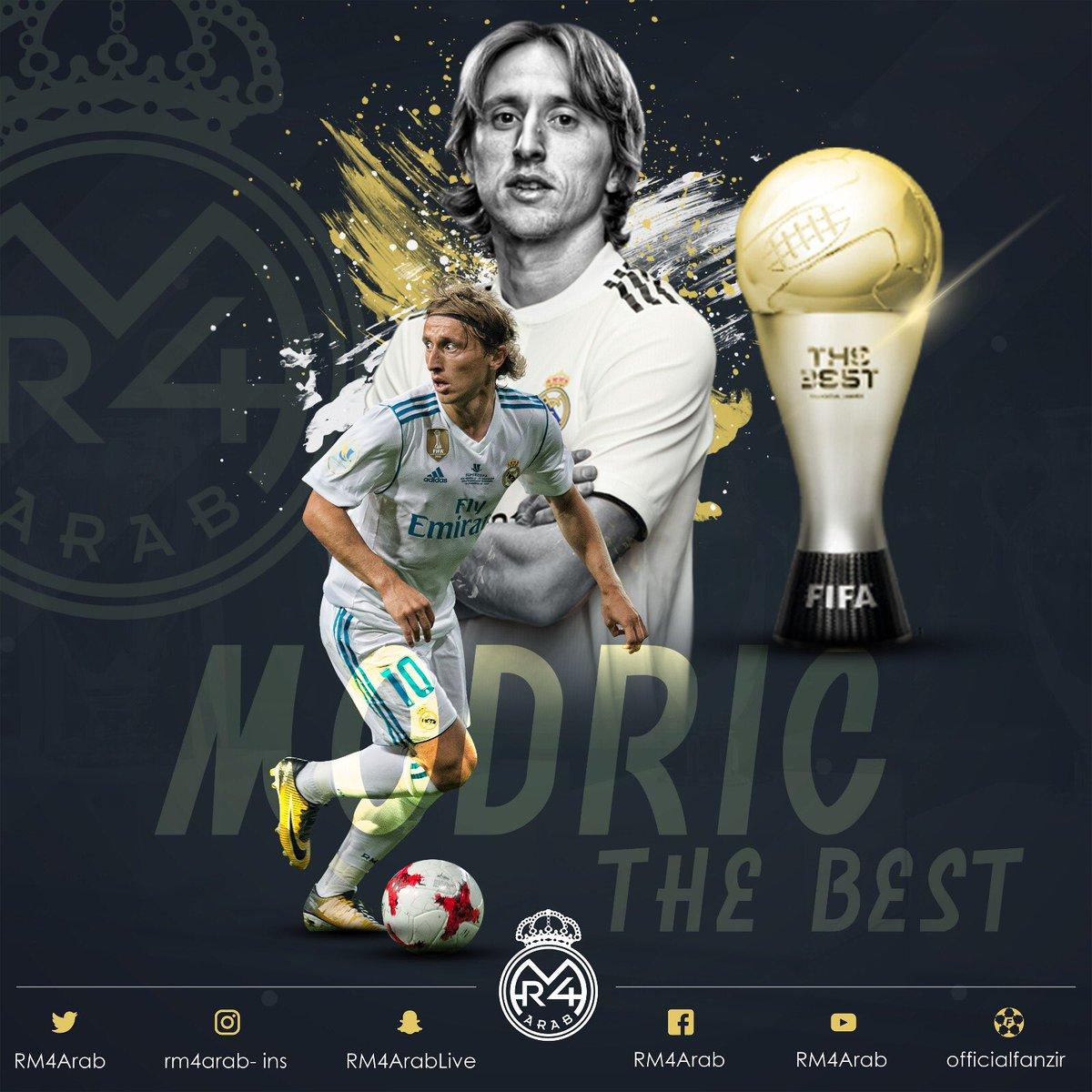 بهترین فوتبالیست سال 2018 جهان مشخص شد عکس