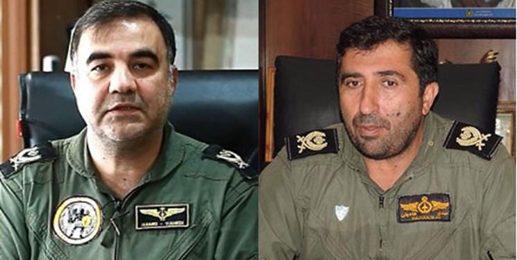 امیر واحدی جانشین فرمانده و امیر هادیان معاون هماهنگ کننده نیروی هوایی ارتش شدند
