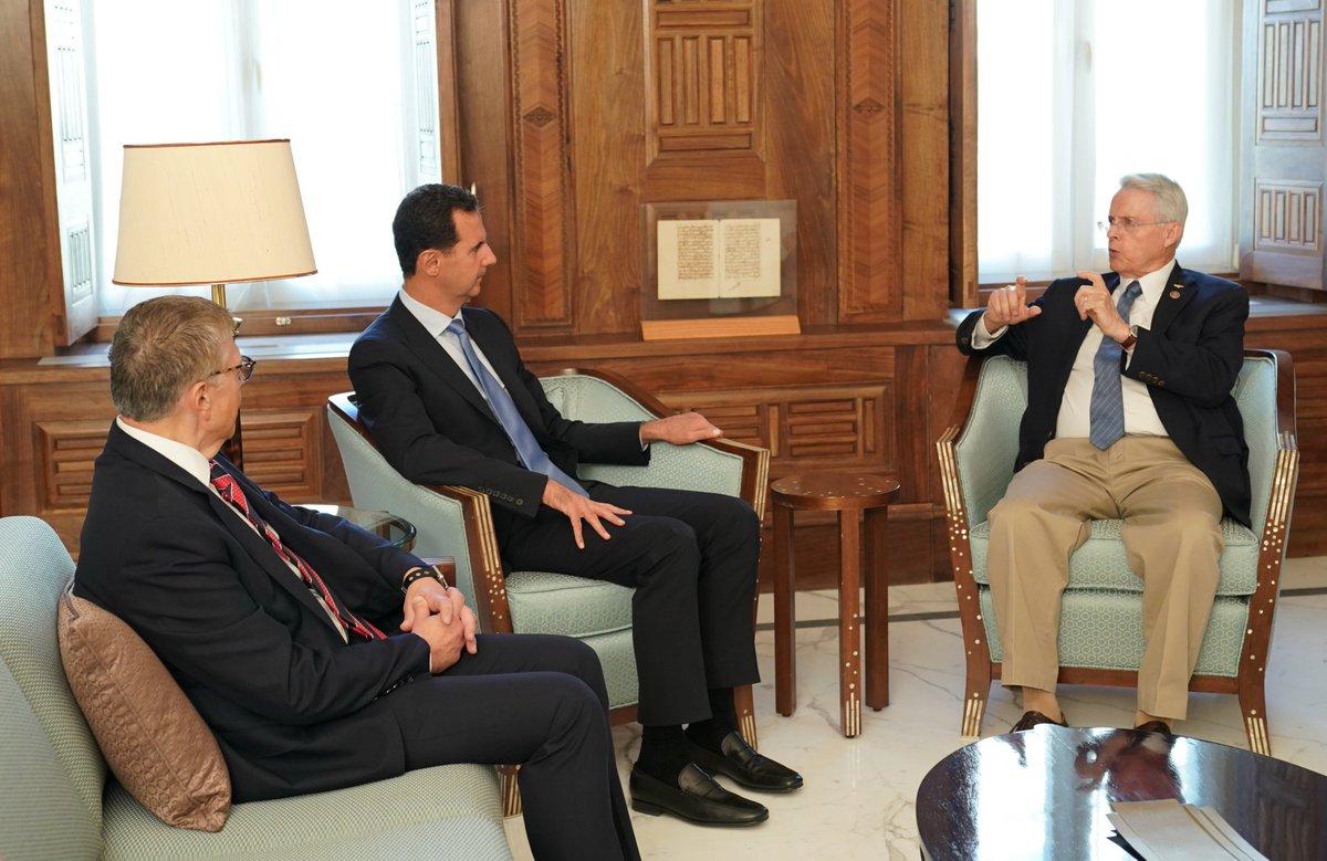 اسد: تهدید و تحریم از ویژگی های اصلی رفتار آمریکاست
