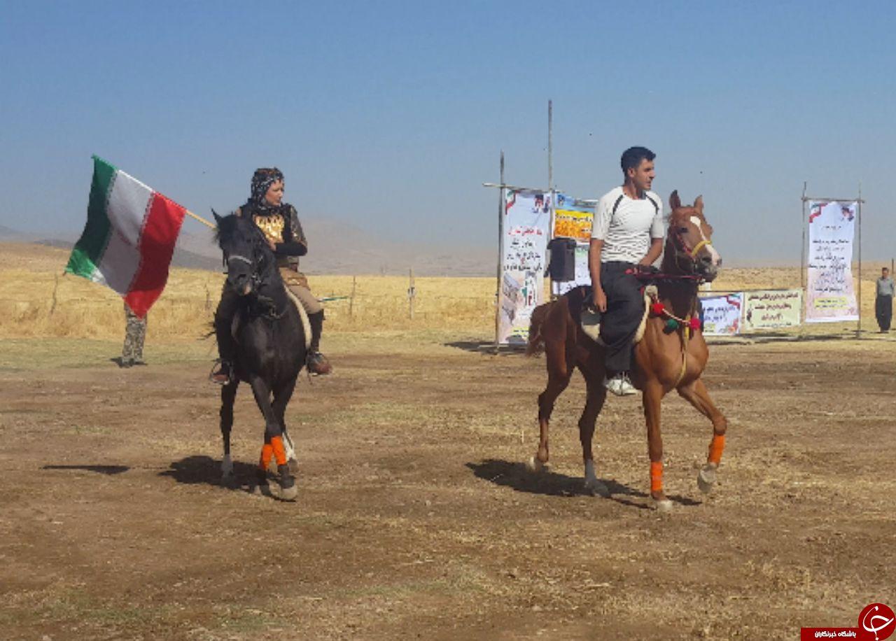 برگزاری جشن زیبا خرمن در ماهیدشت +تصاویر