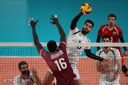 والیبالیستهای ایران مغلوب امریکا شدند