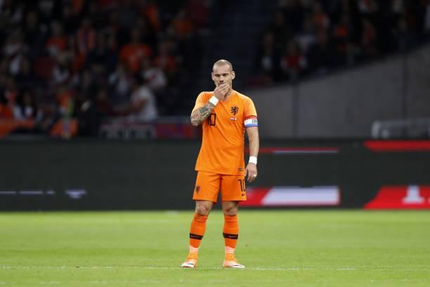 پیروزی هلند در شب خداحافظی اسنایدر از بازیهای ملی/نبرد قهرمان اروپا و نایب قهرمان جهان برنده نداشت